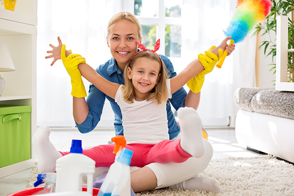 7 tips on how to keep the house clean while the kids are on school holidays