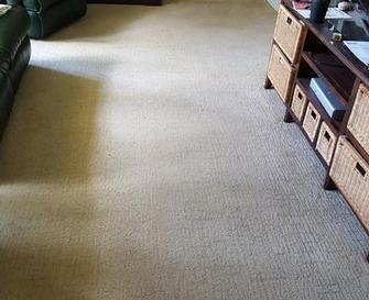 Coorparoo, Brisbane - After picture of lounge room cleaned using the V.I.P. Home Services Carpet Cleaning Service  in Coorparoo, Brisbane,