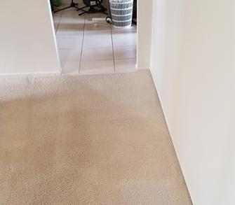 Calamvale, Brisbane - Photo of lounge room, Calamvale, Brisbane, after cleaning with the V.I.P. Home Services Carpet Cleaning Service.