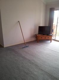 Domestic and Home Carpet Cleaning - Domestic lounge room carpet cleaning job at Chermside, Brisbane