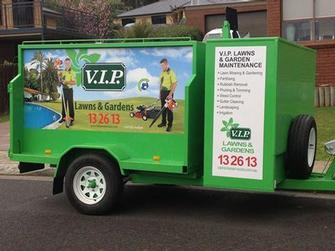 Garden services maintenance lawn mowing service in for Vip lawn mowing services