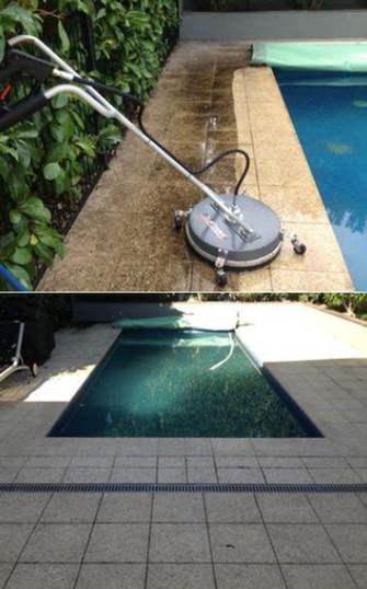 High Pressure Cleaning in Unley - before & after - Look at the results from my high pressure cleaner. This customer was very happy with the results.