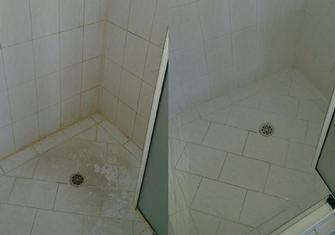 Before and After Shower Cleaning - Mandurah