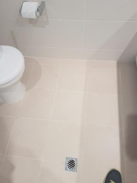 Clean Bathroom Floor